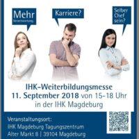 Die BBZ auf der 8. IHK-Weiterbildungsmesse in Magdeburg!